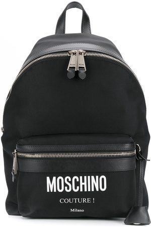 Moschino Rucksack mit Logo-Print