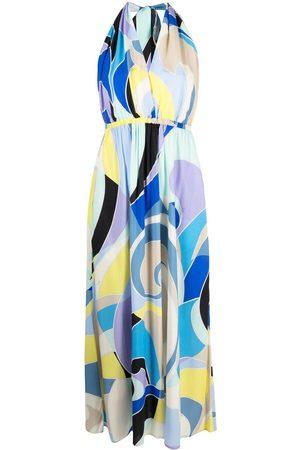 Emilio Pucci Neckholder-Kleid mit Print