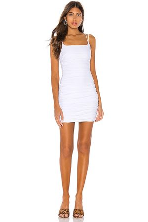 superdown Lisa Ruched Mini Dress in . Size XS.