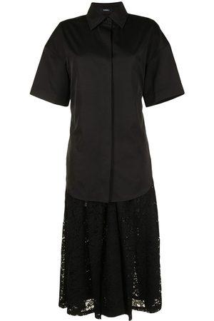 GOEN.J Kleid mit Falten