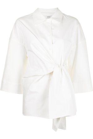GOEN.J Damen Blusen - Oversized-Hemd