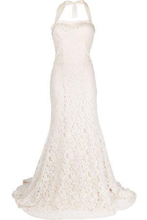 Parlor Damen Bedruckte Kleider - Abendkleid mit floraler Spitze