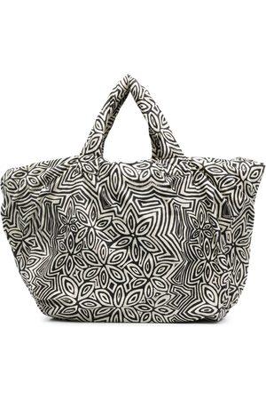 10 CORSO COMO Damen Handtaschen - Pouffy Shopper mit Blumen-Print
