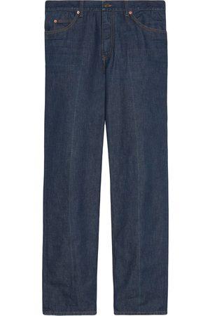 Gucci Straight-Leg-Jeans aus Bio-Denim