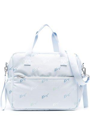 Kenzo Taschen - Wickeltasche mit Logo-Print