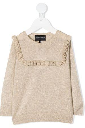 Emporio Armani Mädchen Strickpullover - Pullover mit Rüschen