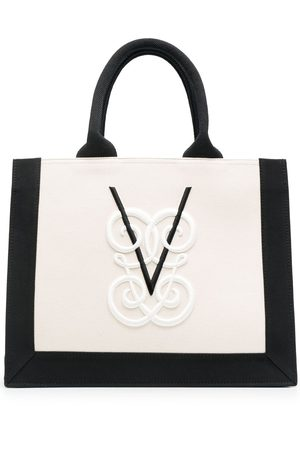 Giambattista Valli Shopper mit Logo-Stickerei