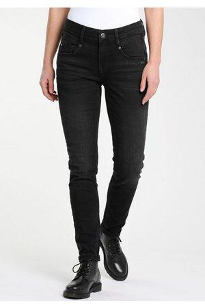 Gang Skinny-fit-Jeans »MARISSA« mit modischer V-Passe vorn & hinten