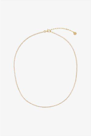 ANINE BING Diamond Tennis Necklace in