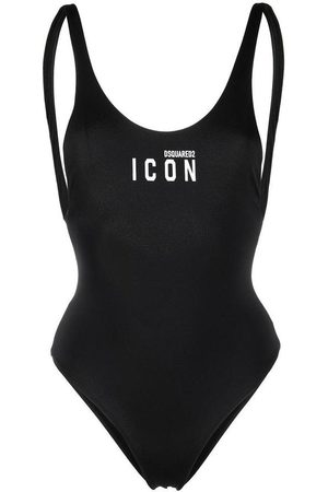 Dsquared2 Swimsuit with Icon Logo , Damen, Größe: 44 IT