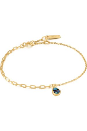 ANIA HAIE Damen-Armband 925er Silber Farbstein '