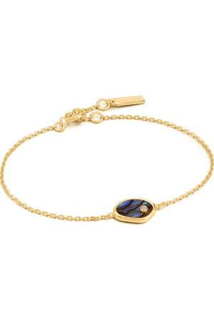 ANIA HAIE Damen-Armband 925er Silber 1 Farbstein '