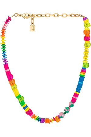 DANNIJO Damen Halsketten - Bahama Necklace in ,Metallic Gold.