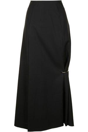 KIMHEKIM Damen Röcke - Asymmetrischer Taillenrock