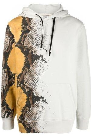 1017 ALYX 9SM Herren Sweatshirts - Hoodie mit Schlangen-Print