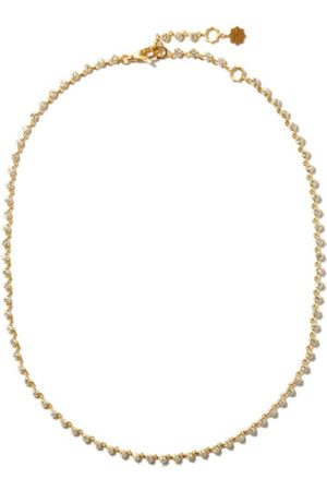 Jade Trau Sophisticate Riviera Diamond & 18kt Choker