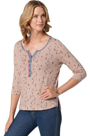 Ambria Print-Shirt