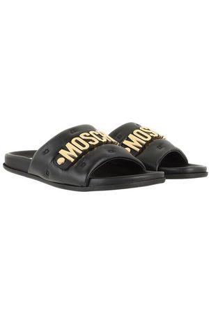 Moschino Damen Sandalen - Sandalen & Sandaletten Shoe Millerighe25 Vitello schwarz