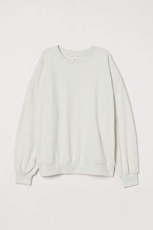 H&M Damen Tapered - Sweatshirt Relaxed Fit