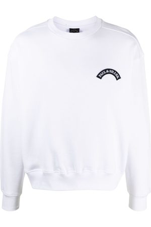 Paul & Shark Pullover mit Logo-Patch