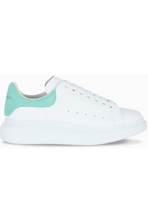 Alexander McQueen Men's white/green Oversized sneakers