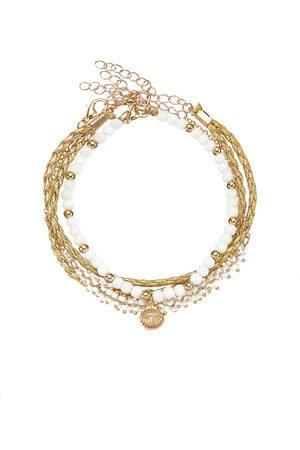 Lascana Damen Halsketten - Fußkette