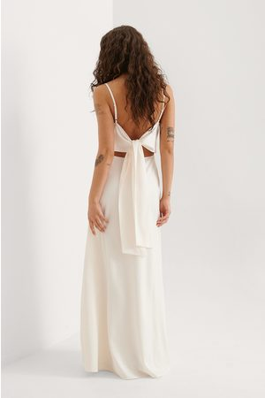 Curated Styles Maxikleid - Offwhite