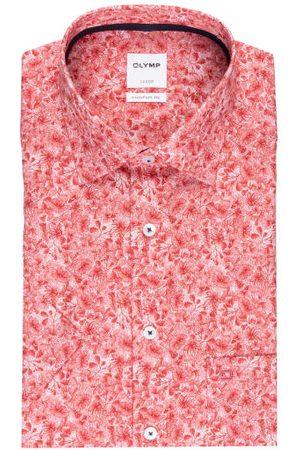 Olymp Kurzarm-Hemd Luxor Comfort Fit rot