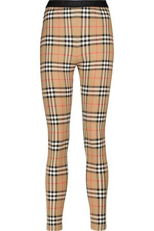Burberry Leggings Vintage Check