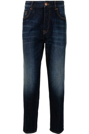 Emporio Armani High-rise slim-fit jeans