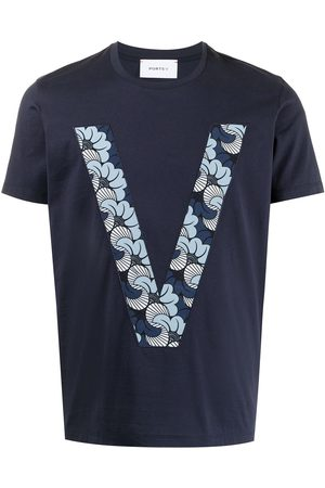 Ports V T-Shirts, Polos & Longsleeves - T-Shirt mit Logo-Print