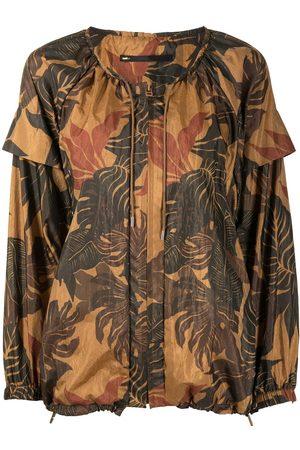 Muller Of Yoshiokubo Damen Tops & T-Shirts - Oberteil mit botanischem Print