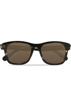 Moncler Lunettes Herren Sonnenbrillen - ML0192 Sunglasses Shiny Dark Brown/Roviex Mirror