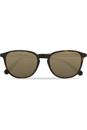 Moncler Lunettes ML0190 Sunglasses Havana/Green Mirror