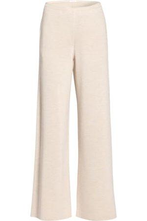 THE ROW Weite Hosen - Strickhose Chuk Aus Merinowolle Mit Seide beige
