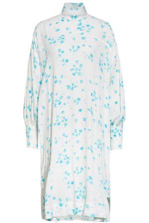 Ganni Freizeitkleider - Oversized-Kleid blau