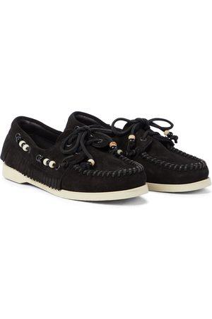 Alanui X Sebago® Loafers Dockside aus Veloursleder