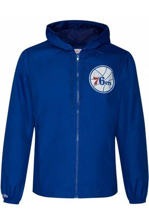 mitchell-ness Herren Jacken - Mitchell & Ness Philadelphia 76ers Herren Windbreaker FLZPMG18045-P76ROYA