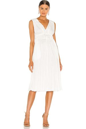 REBECCA TAYLOR Damen Ärmellose Kleider - Sleeveless Broomstick Pleating Dress in . Size 2/S, 4/M, 6/L.