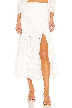 Bardot Broderie Skirt in . Size XS, S, M.