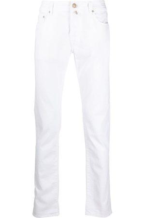 Jacob Cohen Herren Straight - Tief sitzende Straight-Leg-Jeans