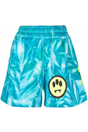 BARROW Shorts mit Batikmuster