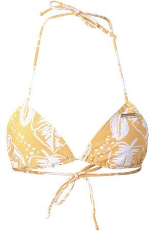TOM TAILOR Damen Triangle Bikinitop mit Print, , Gr.36