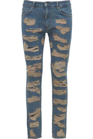 Represent Jeans Aus Denim Mit Rissen