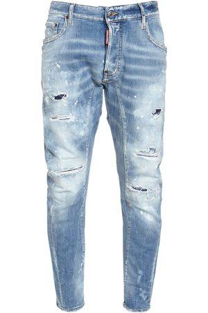 "Dsquared2 17cm Jeans Aus Baumwolldenim ""tidy Biker"""