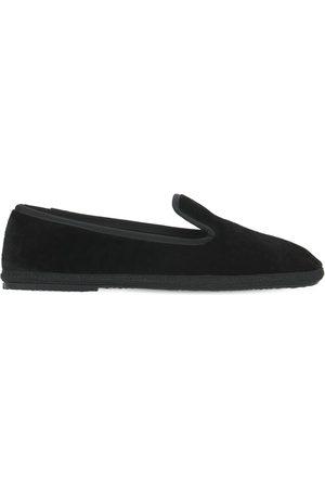 "SENTIER 10mm Hohe Loafers Aus Samt ""principe"""