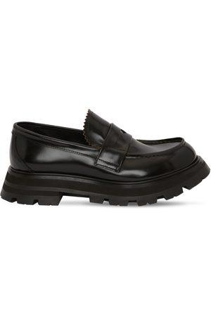 Alexander McQueen 45mm Loafers Aus Poliertem Leder