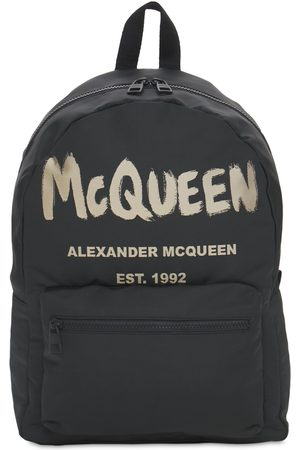 "Alexander McQueen Herren Rucksäcke - Rucksack ""new Mcqueen Graffiti"""