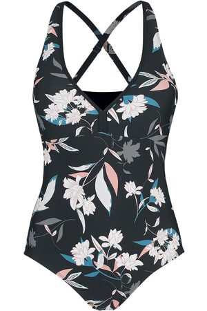 Fashion Victim Pastel Flower Swimsuit Badeanzug multicolor