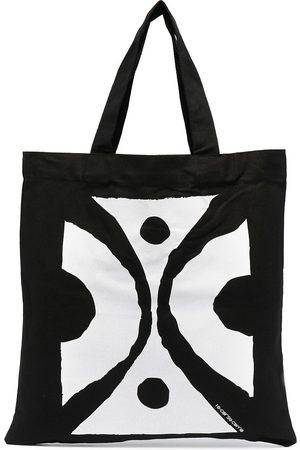 10 CORSO COMO Damen Handtaschen - Zweifarbiger Shopper mit Print